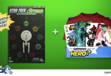 Comic BLock July 2015 Box Spoiler - Star Trek/Green Lantern Variant Cover