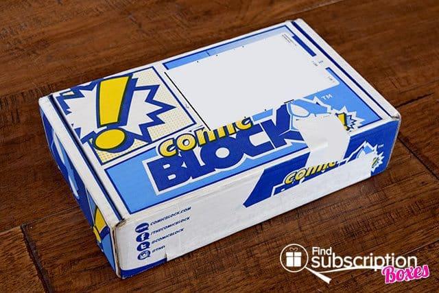 Comic Block June 2015 Box Review - Box