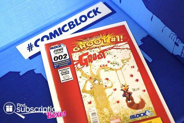 Comic Block June 2015 Box Review - Product Card