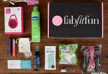 FabFitFun Summer 2015 VIP Box Review - Box Contents