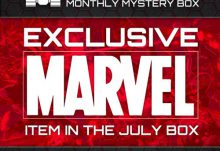 Geek Fuel July 2015 Box Spoiler - Marvel Item