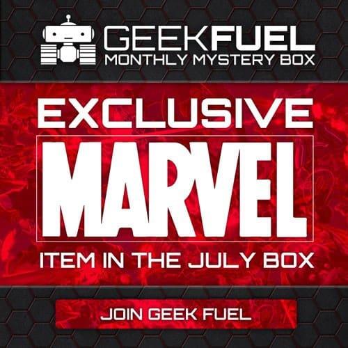 Geek Fuel July 2015 Box Spoiler - Marvel Item