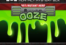Geek Fuel June 2015 Box Spoiler - Teenage Mutant Ninja Turtles