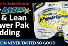 JackedPack July 2015 Box Spoiler - MHP Fit & Lean Power Pak Pudding
