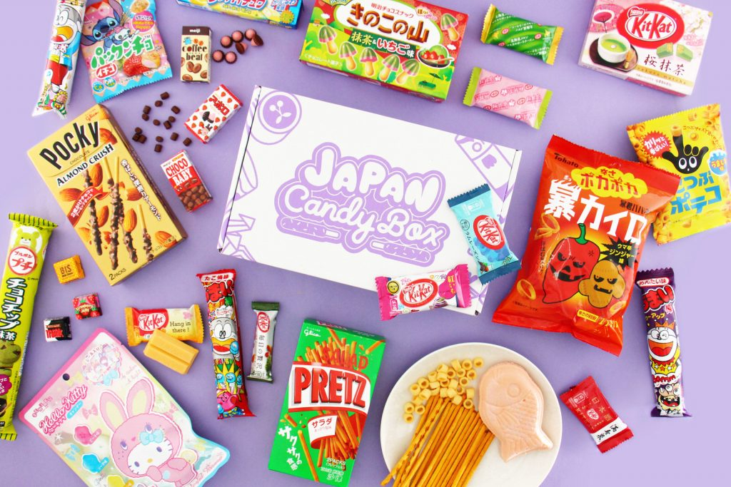 Japan Candy Box Monthly Box Full Of Quirky Japanese