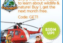 Junior Explorers Promo Code 2nd Month Free