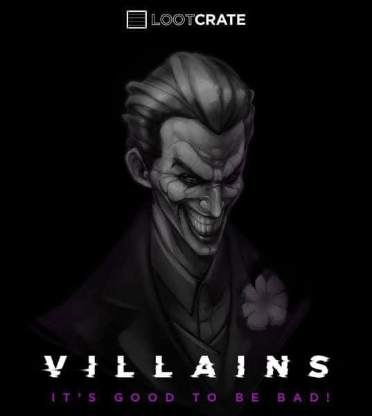 Loot Crate August 2015 Box Theme - Villains 2