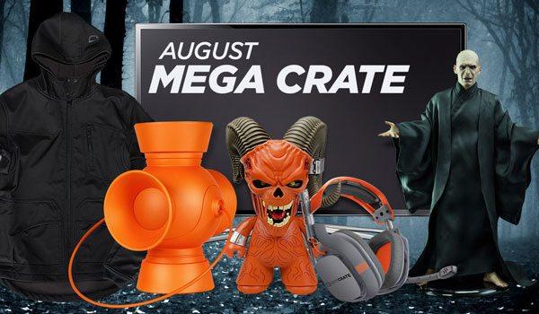 Loot Crate August 2015 Mega Crate