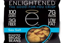 Love With Food August 2015 Box Spoiler - Englightened Crisps