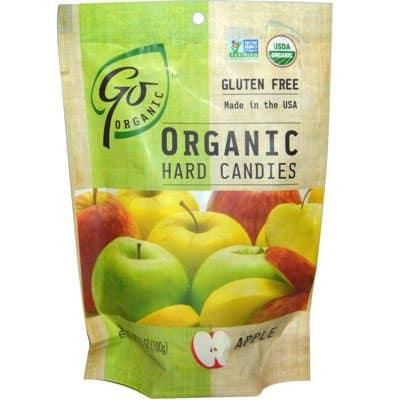 Love With Food August 2015 Box Spoiler - Go Organics Apple Hard Candies