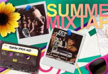 Nerd Block August 2015 Box Theme - SUmmer Mixtape