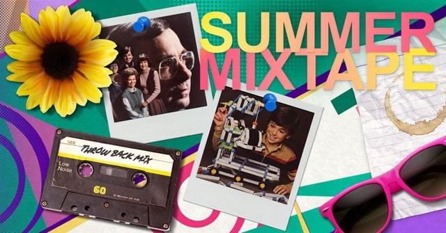 Nerd Block August 2015 Box Theme - SUmmer Mixtape