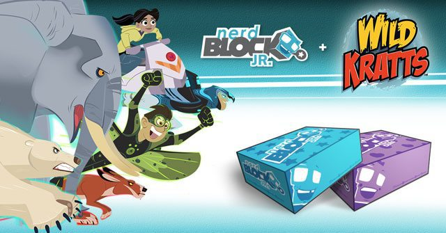 Nerd Block Jr. August 2015 Box Spoiler - Wild Kratts
