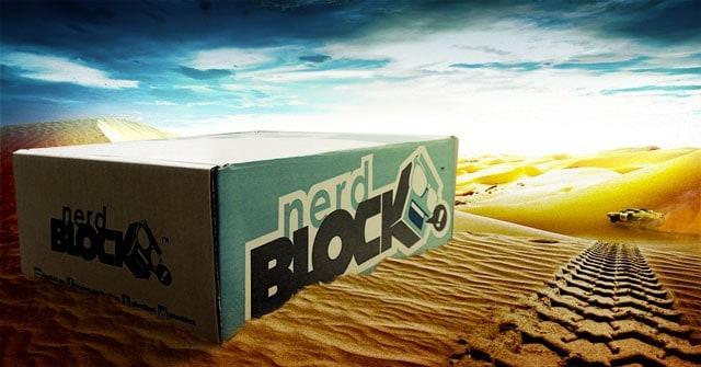Nerd Block July 2015 Box Spoiler - Mad Max