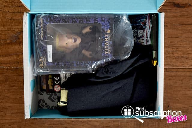 Nerd Block July 2015 Humanity's Last Hope Box Review - First Look