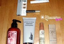 NewBeauty TestTube July 2015 Box Review - Box Contents