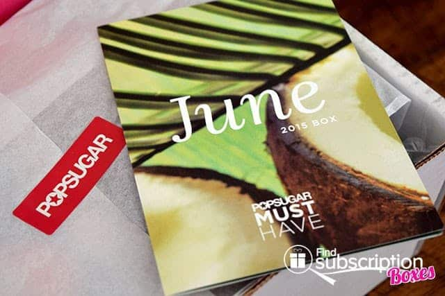 POPSUGAR June 2015 Must Have Box Review - Product Card