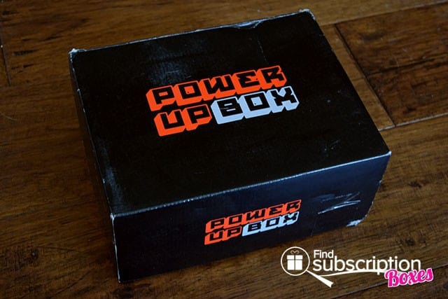 Power Up Box June 2015 Box Review - Box
