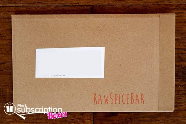 RawSpiceBar June 2015 Spice Box Review - Box