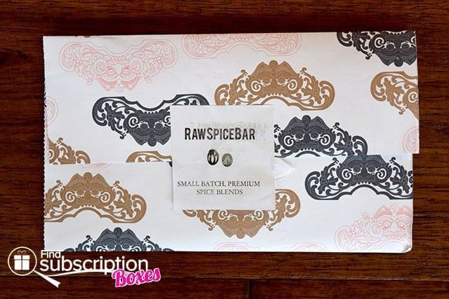 RawSpiceBar June 2015 Spice Box Review - First Look