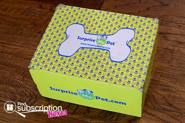 Surprise My Pet May 2015 Box Review - Box