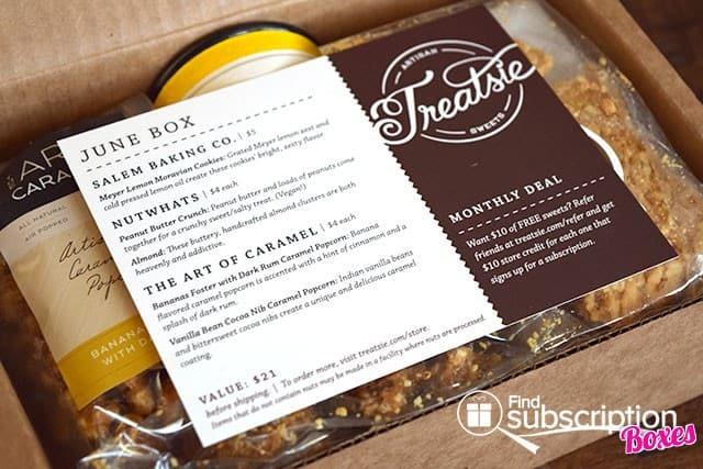 Treatsie June 2015 Box Review - Product Card