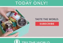 Try The World Free Box Offer