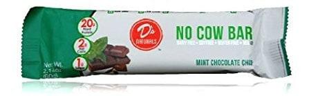 Vegan Cuts July 2015 Snack Box Spoiler - D's Natural Mint Chocolate No Cow Bar