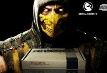 Arcade Block August 2015 Box Spoiler - Mortal Kombat X