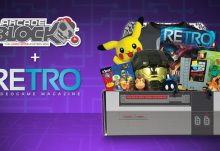 Arcade Block August 2015 Box Spoiler - RETRO Magazine