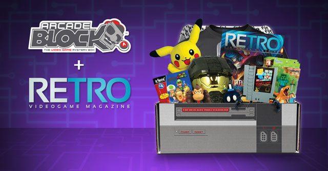Arcade Block August 2015 Box Spoiler - RETRO Magazine