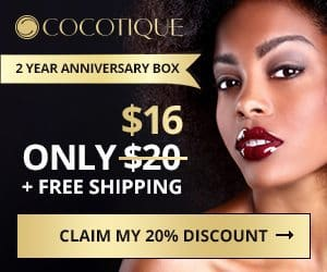 COCOTIQUE 20% Off Anniversary Box