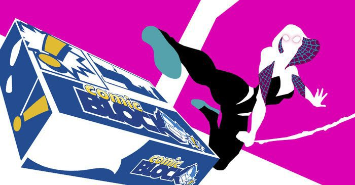 Comic Block August 2015 Box Spoiler - Spider-Gwen