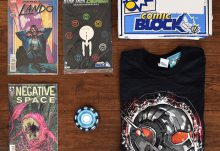 Comic Block July 2015 Box Review - Box Contents