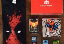 Geek Fuel August 2015 Box Review - Box Contents