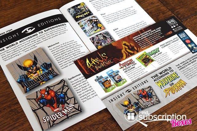 Geek Fuel August 2015 Box Review - Geek Fuel Magazine