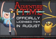 Geek Fuel August 2015 Box Spoiler - Adventure Time