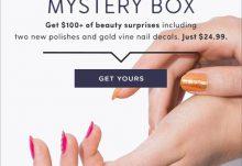 Julep Maven August 2015 Fizzy Fuscia Mystery Box