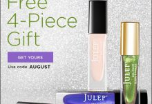 Julep Maven Free August Birthstone Welcome Box