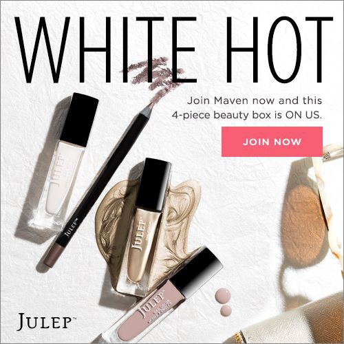 Julep Maven Free White Hot Neutrals Welcome Box