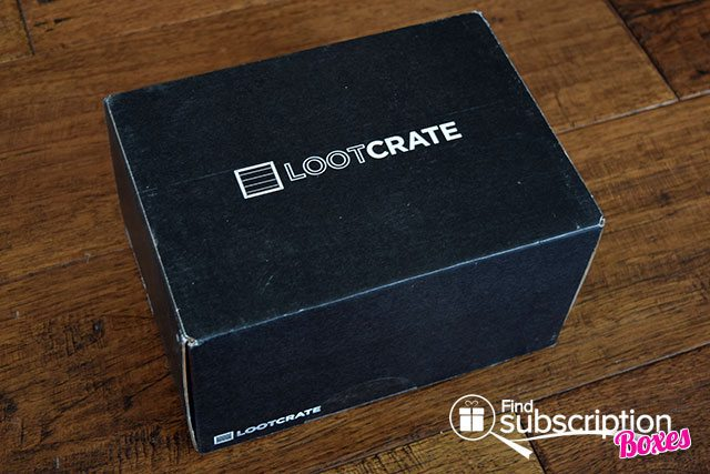 Loot Crate August 2015 Box Review - Villains 2 Crate - Box