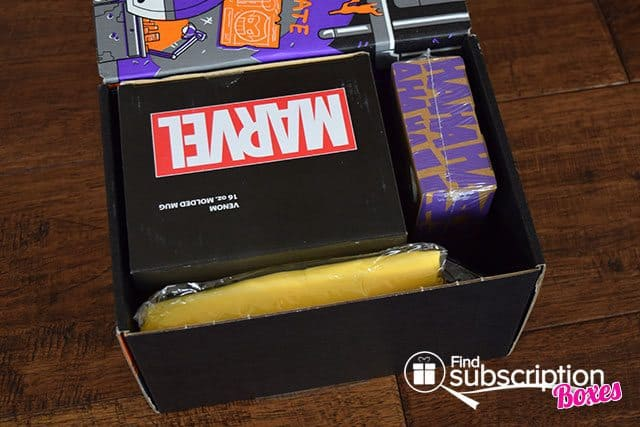 Loot Crate August 2015 Box Review - Villains 2 Crate - First Look