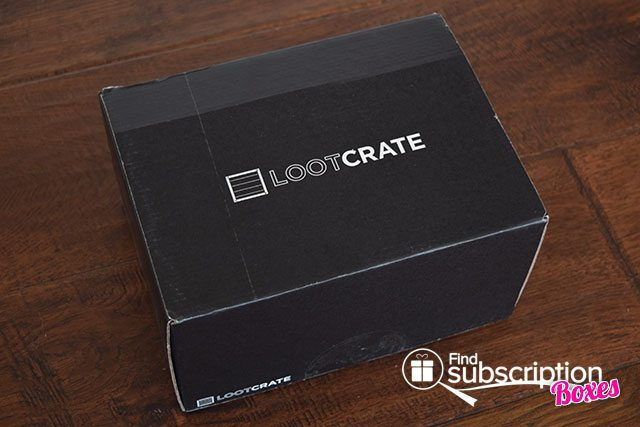 Loot Crate July 2015 Box Review - Heroes 2 Crate - Box