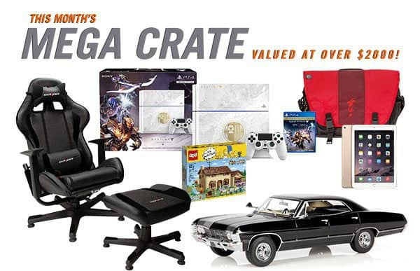 Loot Crate September 2015 Mega Crate