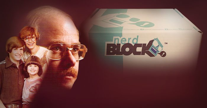 Nerd Block August 2015 Box Spoiler - Awkward Family Photos