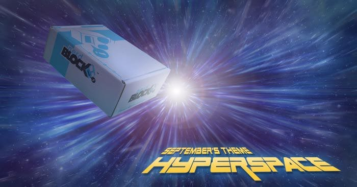 Nerd Block September 2015 Box Theme - Hyperspace
