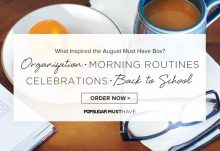 POPSUGAR Must Have August 2015 Box Inpisration