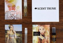Scent Trunk July 2015 Box Review - Box Contents
