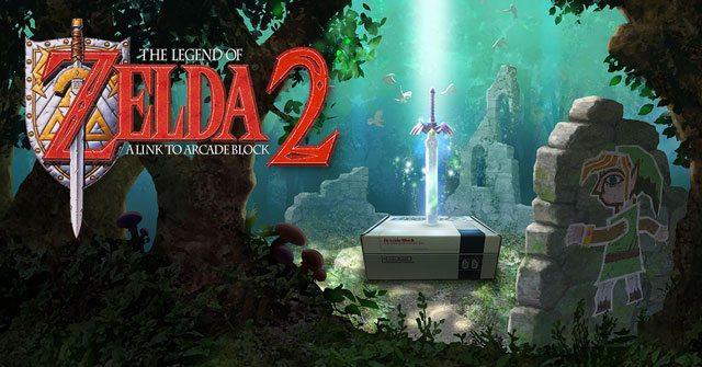 Arcade Block September 2015 Box Spoiler - Legend of Zelda