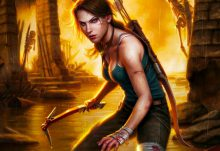 Comic Block Box Spoiler - October 2015 - Lara Croft
